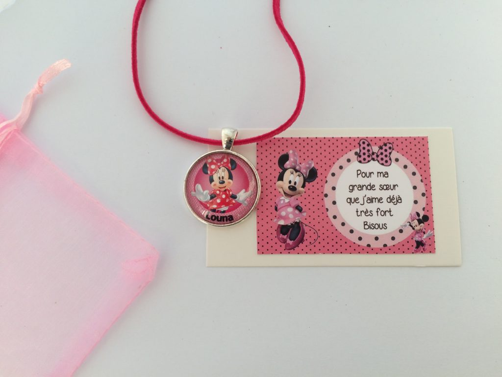 Collier Minnie Pour Louna