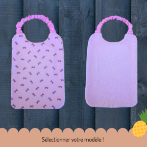 Serviette de cantine 100% girly